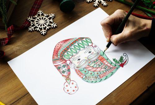 クリスマスはすぐそこ!サンタさんに手紙を書こう!