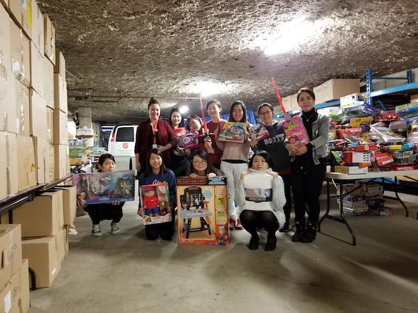 【ボランティア活動報告】11月:Salvation Army