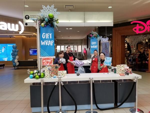 【ボランティア活動報告】12月:MS Gift Wrapping