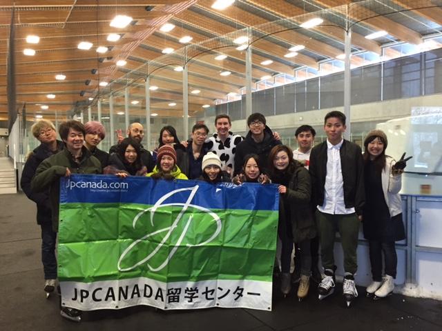 【2/4】JpcanadaとIce Skatingに行きましょう!