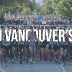 【満席】5月のボランティア募集!Vancouver Marathon!!
