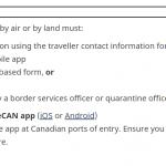 2020年版カナダ入国審査で慌てない!アプリ「Arrive CAN」で自己隔離プランの申請方法をご紹介