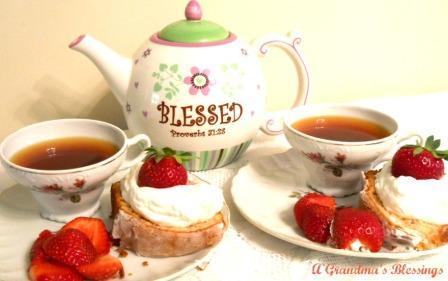 Strawberry Festival Tea
